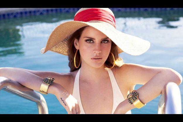 Lana Del Rey va défendre les couleurs de Jaguar.