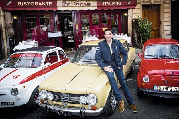 Gregory Galiffi, présentateur sur D8, va faire le Tour Auto 2014 sur une Alfa Romeo Giulia.