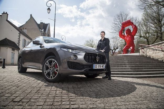 Maserati Levante & Richard Orlinski : sculpture générale