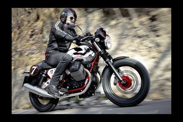 La Moto Guzzi V7 Racer.