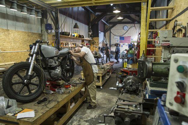Ex-photographe, Willie, le boss de Clutch Custom Motorcycles, s'est fixé pour objectif d'atteindre l'excellence dans ses réalisations.