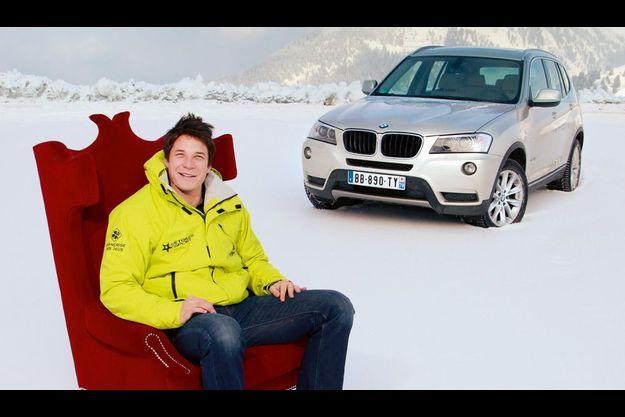 François Trinh-Duc et la BMW X3 2.0d