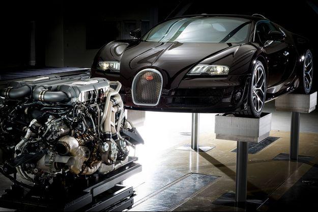 Construite autour de son incroyable moteur, la Grand Sport Vitesse fait la synthèse du meilleur de la culture automobile française, italienne et allemande… à l'instar du fondateur de la marque, Ettore Bugatti, un Milanais à la rigueur toute germanique venu chercher fortune en Alsace.