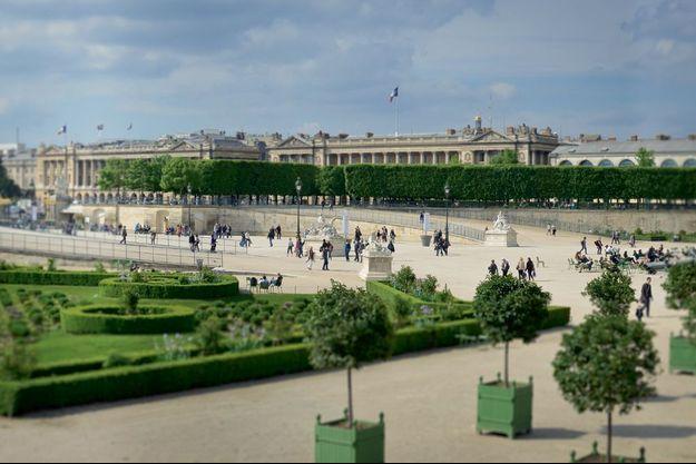 Le Jardin des Tuileries accueille la DS Week.