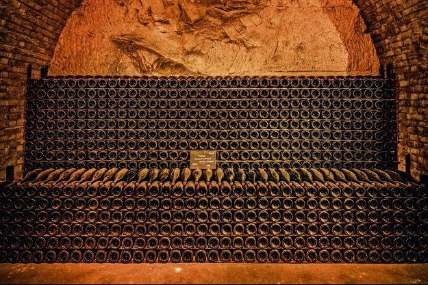 Cave à champagne.