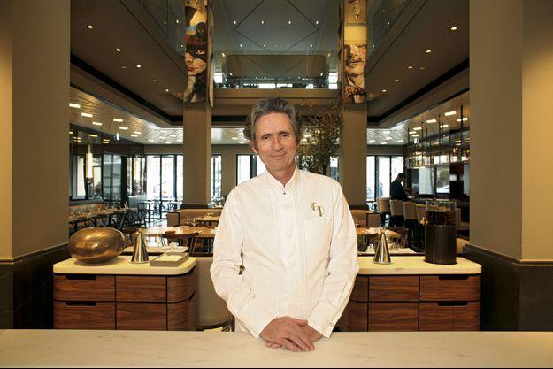 Gérald Passédat aux commandes de la Brasserie Lutetia.