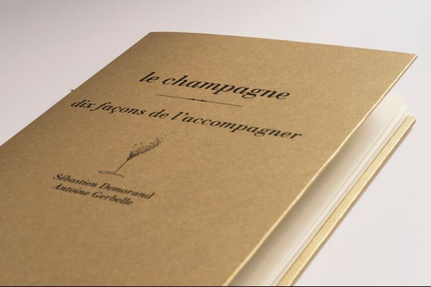 «Le champagne, 10 façons de l'accompagner»