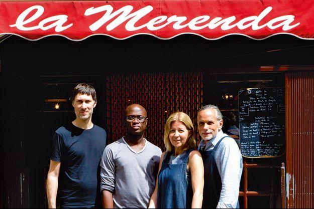 L'équipe de La Merenda.