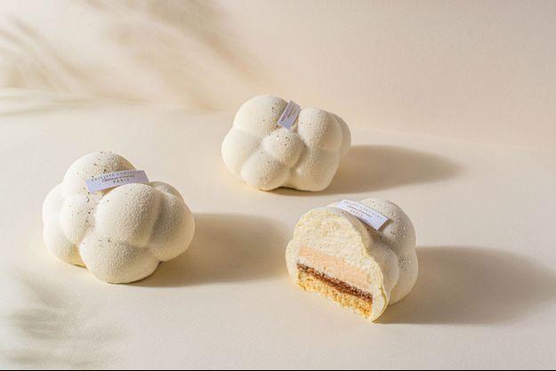 Avec son gâteau Cirrus, le pâtissier Philippe Conticini nous fait planer…