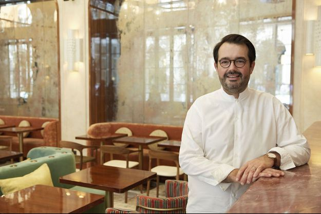 Chez Mimosa, le nouveau restaurant de Jean-François Piège à l'hôtel de la Marine.