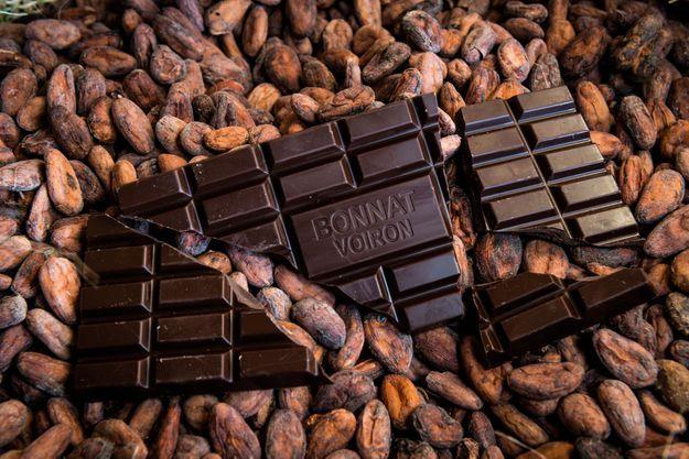 Le chocolat Bonnet Voiron au sommet de l'art de la tablette.