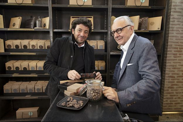 Patrick Bruel et Alain Ducasse.