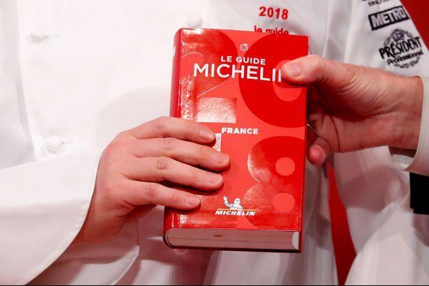 Le guide Michelin 2018 a été dévoilé lundi.