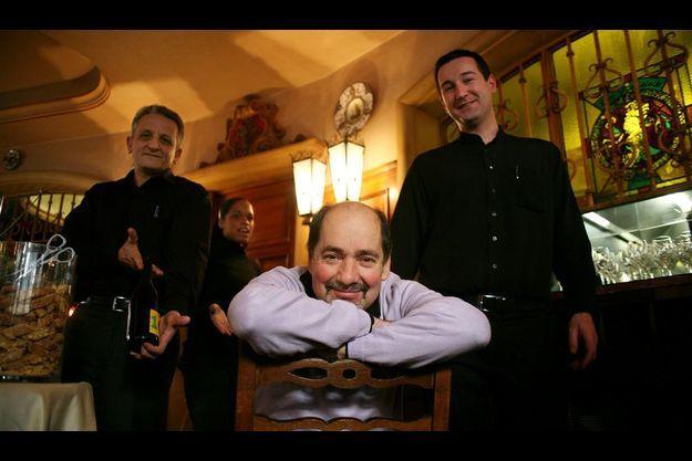 Carlo et son équipe au San Francisco Forza Italia
