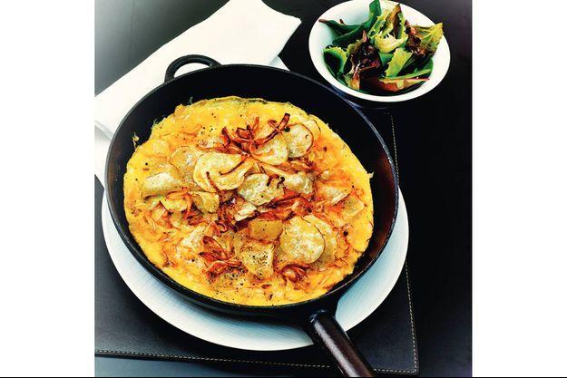 L'omelette aux chips d'Eric Frechon.