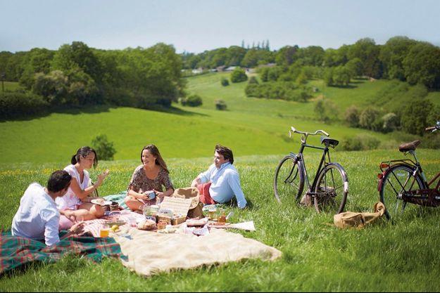 « Je trouve que la nourriture a toujours meilleur goût en plein air, après un peu d'exercice », dit Pippa.