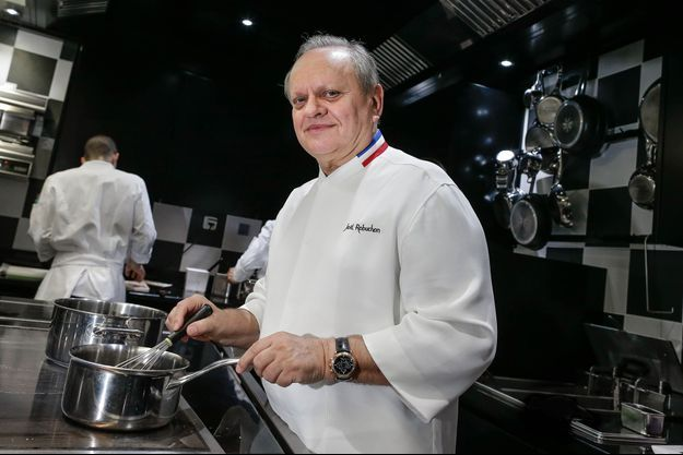 Joël Robuchon en cuisine