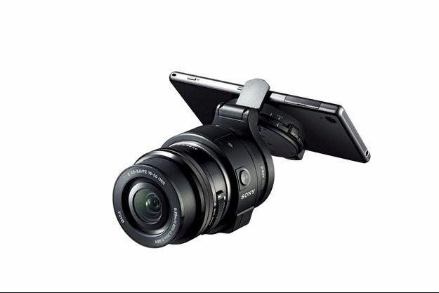 Le Smartphone du paparazzi.