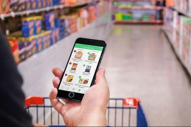 Les applications dévoilant le contenu des aliments par un simple scan du code-barres connaissent un véritable engouement