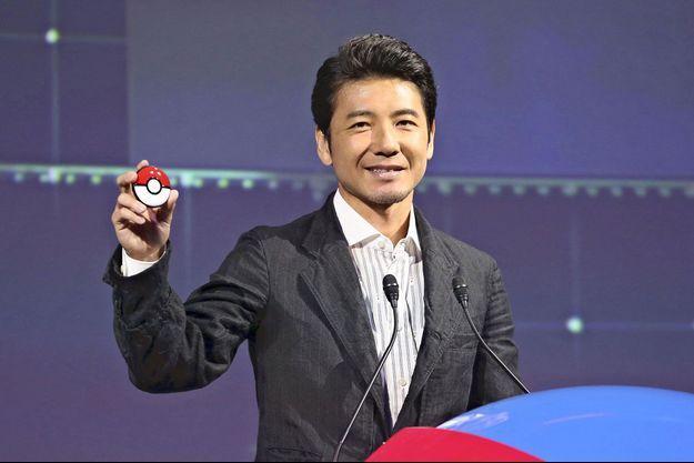 Présentation du nouveau jeu Pokémon à Tokyo, le 29 mai 2019.