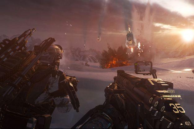 "Une image tirée de ""Call Of Duty : Advanced Warfare"""