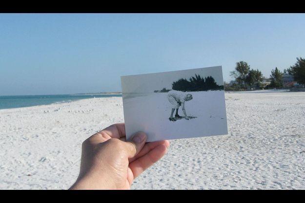 """""""Chère Photographie, grand-mère adorait venir sur cette plage..."""""""