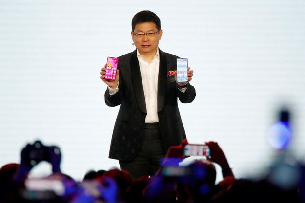 Richard Yu, CEO de Huawei.