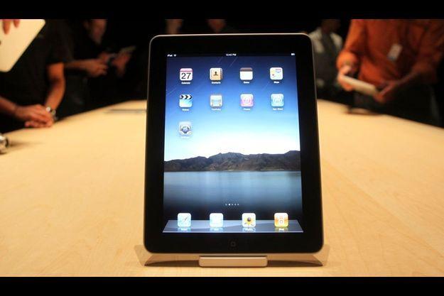 L'iPad a été présenté hier à San Francisco par Steve Jobs.