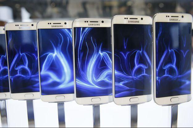 Samsung a présenté son nouveau smartphone, le Galaxy S6.