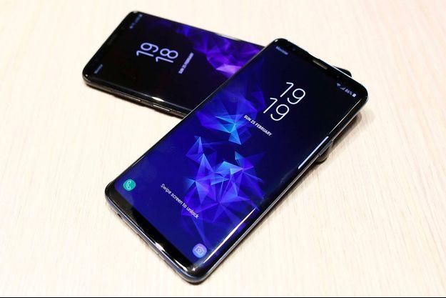 Le Samsung Galaxy S9.