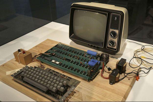 Un Apple-1 (photo d'illustration)