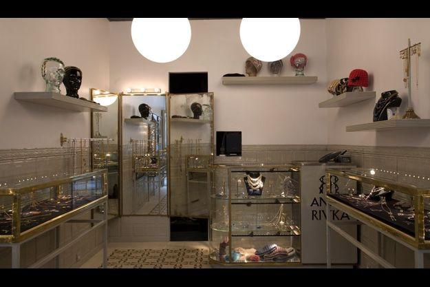 La boutique Anna Rivka.