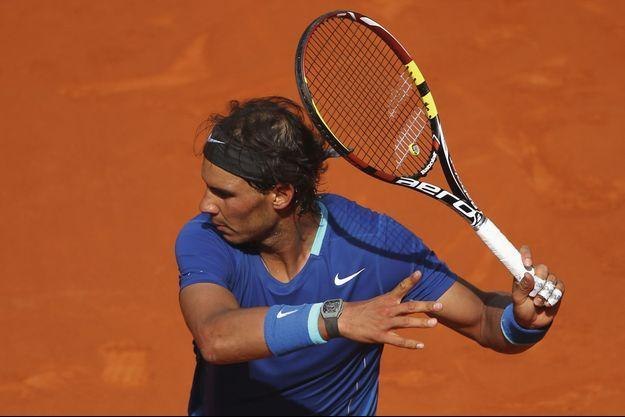 Rafael Nadal porte sa Richard Mille pendant tous ses matchs.