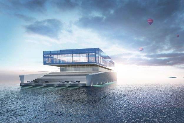 Long de 60,4 mètres et pesant 300 tonnes, ce yacht ne sera pas un hors-bord. Seulement 13 nœuds de vitesse maximum.