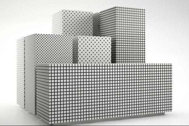 Meuble de rangement Gridd, Habitat, à partir de 599 euros.
