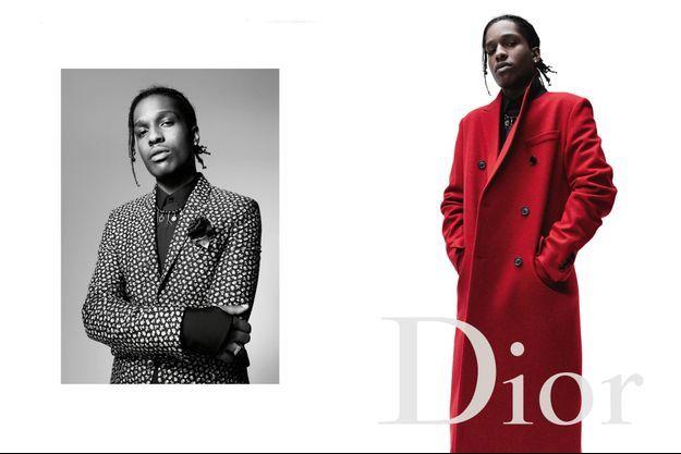 A$AP Rocky est l'un des nouveaux ambassadeurs Dior Homme