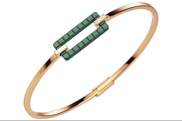 Bracelet en or Fairmined et céramique, Rihanna ♥ Chopard.