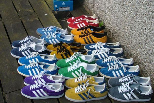 Les Gazelles d'Adidas.