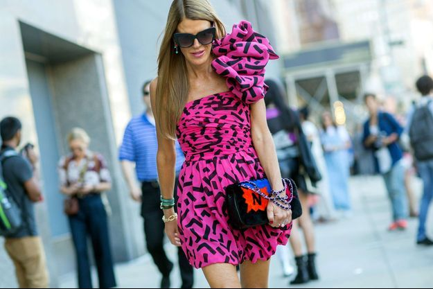 Anna Dello Russo, éditrice «at large» du «Vogue» japonais.