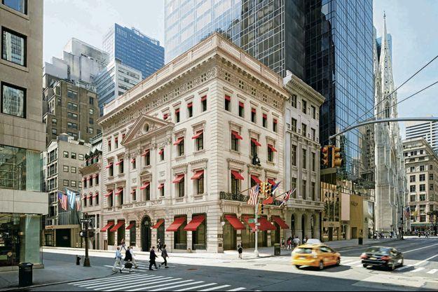 A New York, la Mansion de Cartier a retrouvé toute sa splendeur