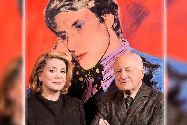 Catherine Deneuve et Pierre Bergé, la passion Saint Laurent