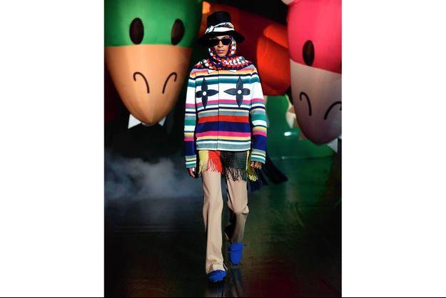 Défilés printemps-été 2021 : Louis Vuitton.