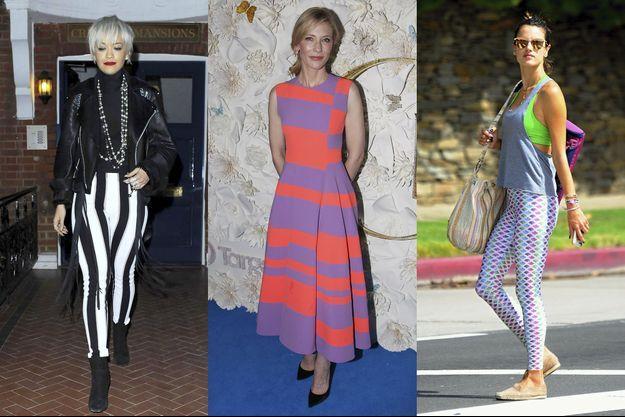 Rita Ora, Cate Blanchett et Alessandra Ambrosio.