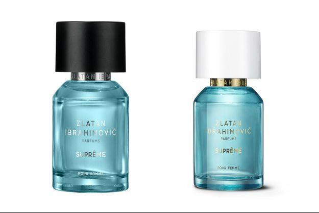 Suprême pour homme et Suprême pour femme, deux nouveaux parfums signés Zlatan