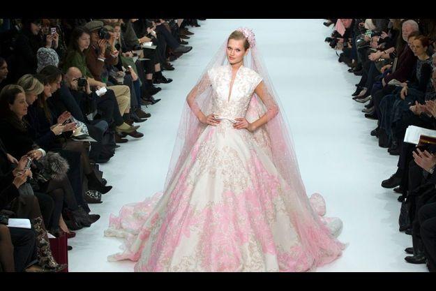 La mariée imaginée cette saison par Elie Saab