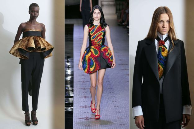Quelques créations de la collection Haute-Couture des Turques de la marque Dice Kayek.
