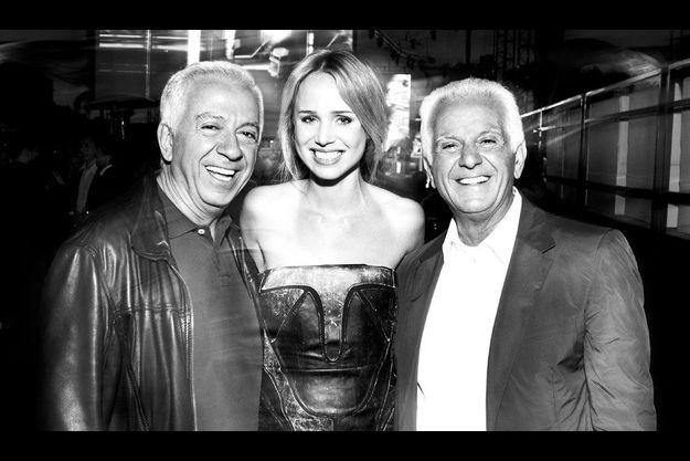 Paul Marciano, Elin Kling et Maurice Marciano