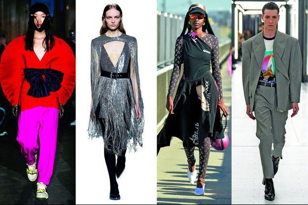 Gucci, Givenchy, Marine Serre, Louis Vuitton
