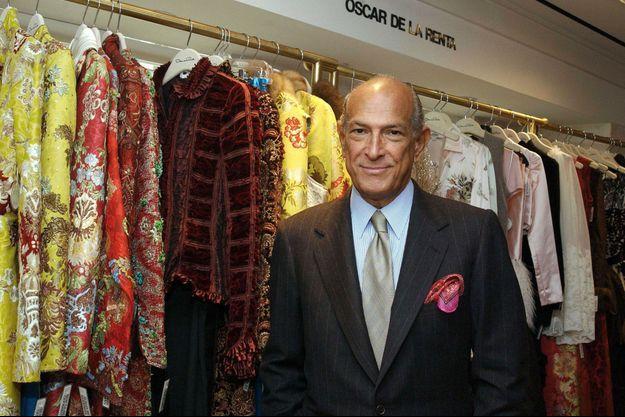 Oscar de la Renta est mort lundi, à 82 ans.