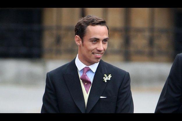 James Middleton, le jour du mariage de sa soeur Catherine avec le prince William
